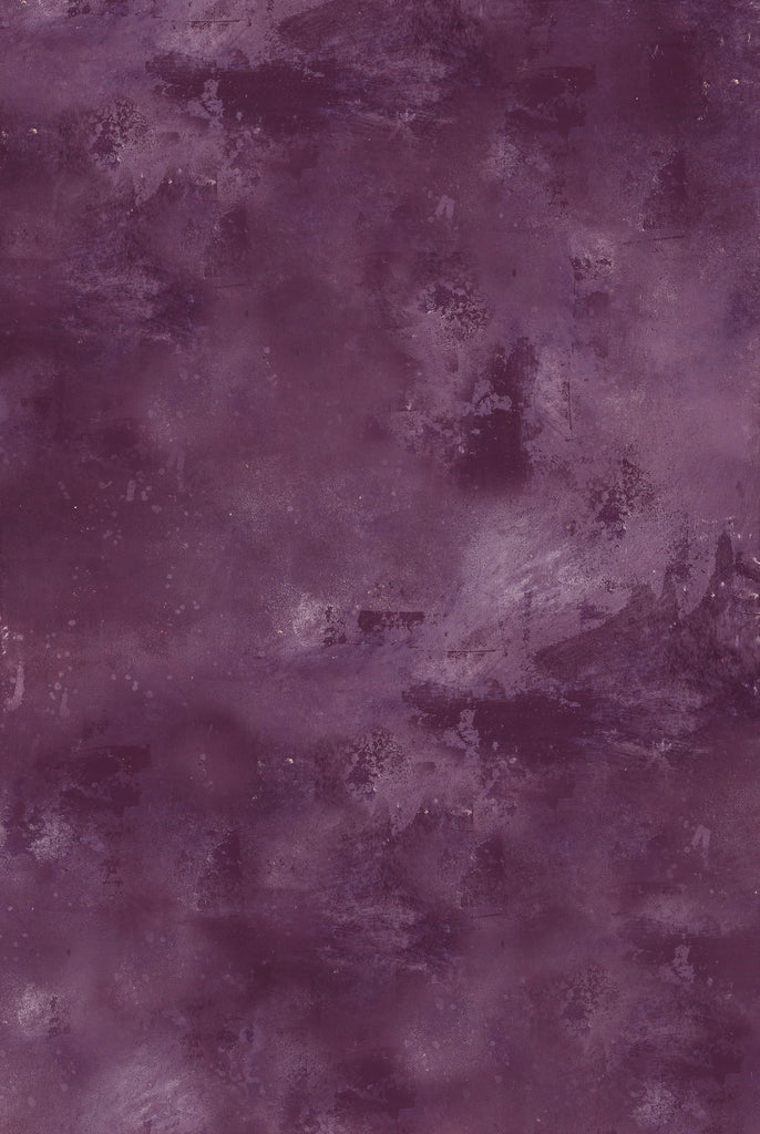 113. 'Brae' purple hand-painted effect printed photography background, A1 size paper sheet