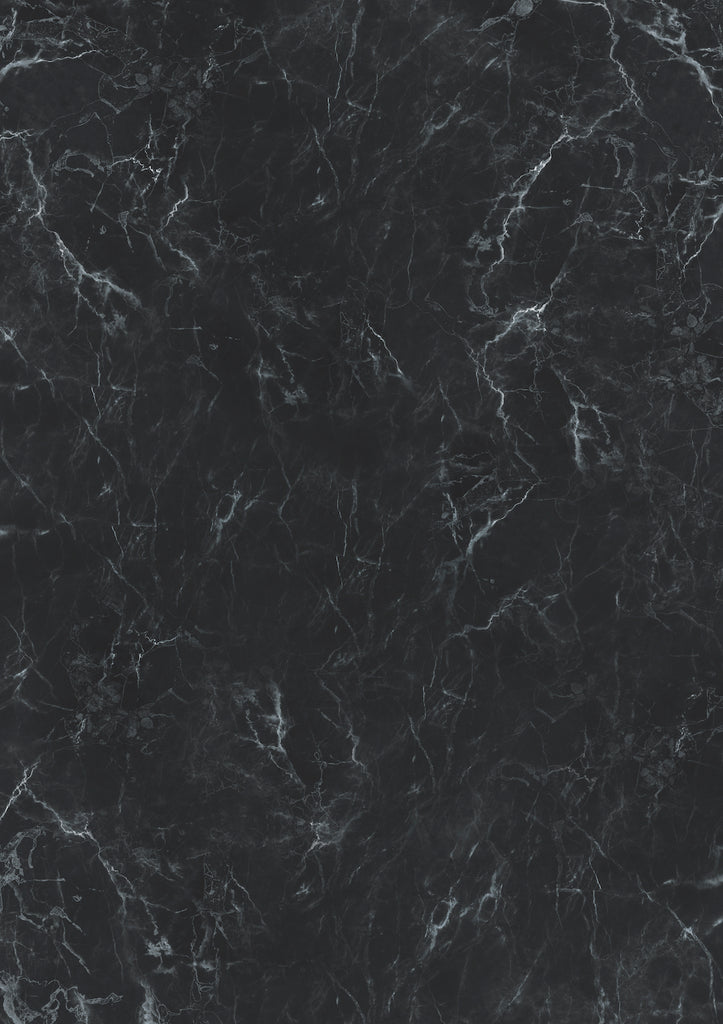 197. 'Leo' black marble printed photography background, A1 size paper sheet