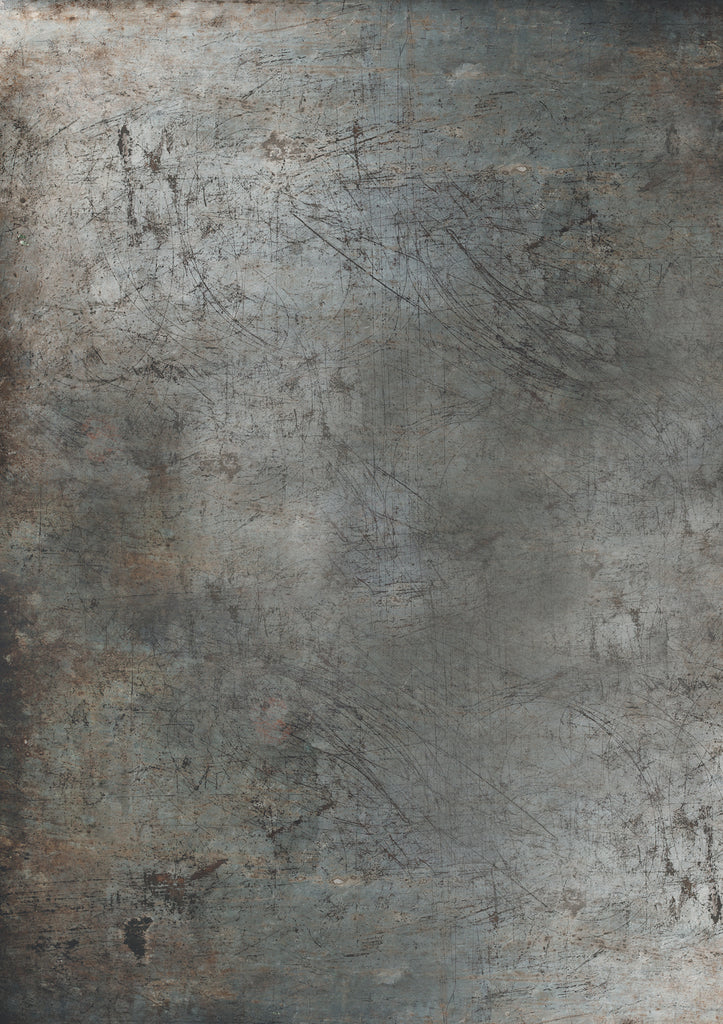 185. 'Stan' warm grey metal printed photography background, A1 size paper sheet