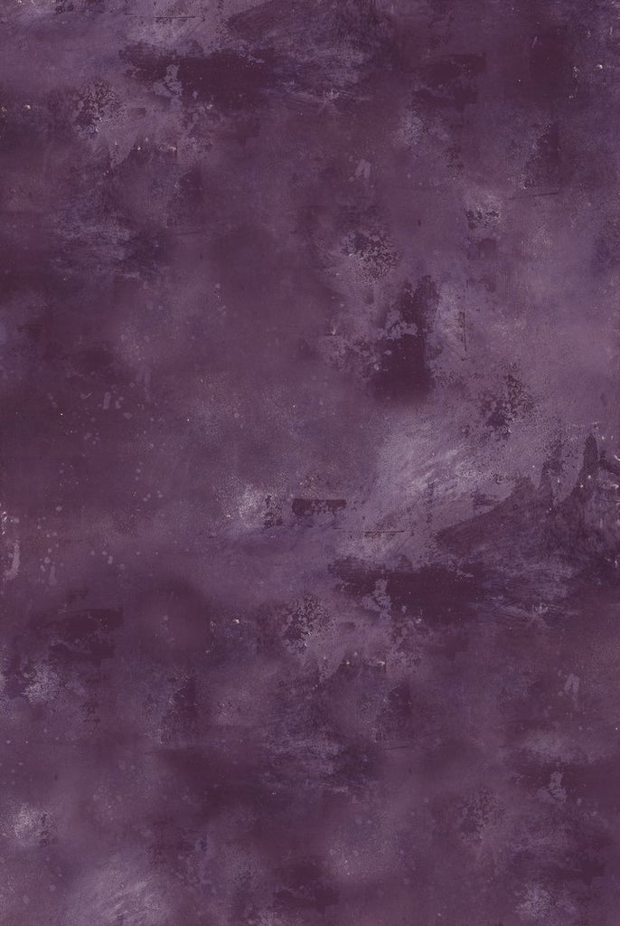 546. 'Bray' purple handpainted effect, A1 vinyl photography background