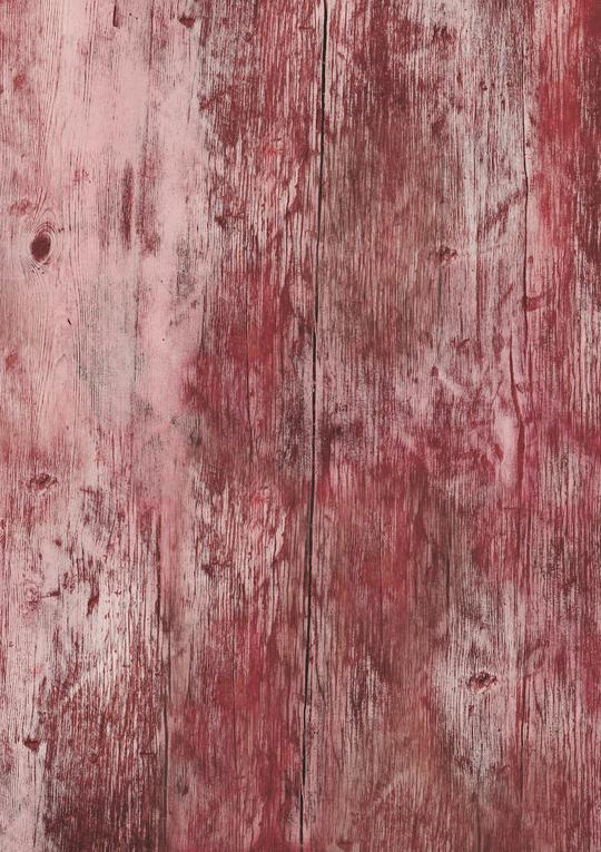 563. 'Cabin' distressed red wood effect, A1 vinyl photography background