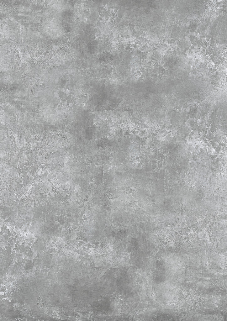 115. Large 'Earl' mid grey rough plaster effect printed photography background, A0 size paper sheet