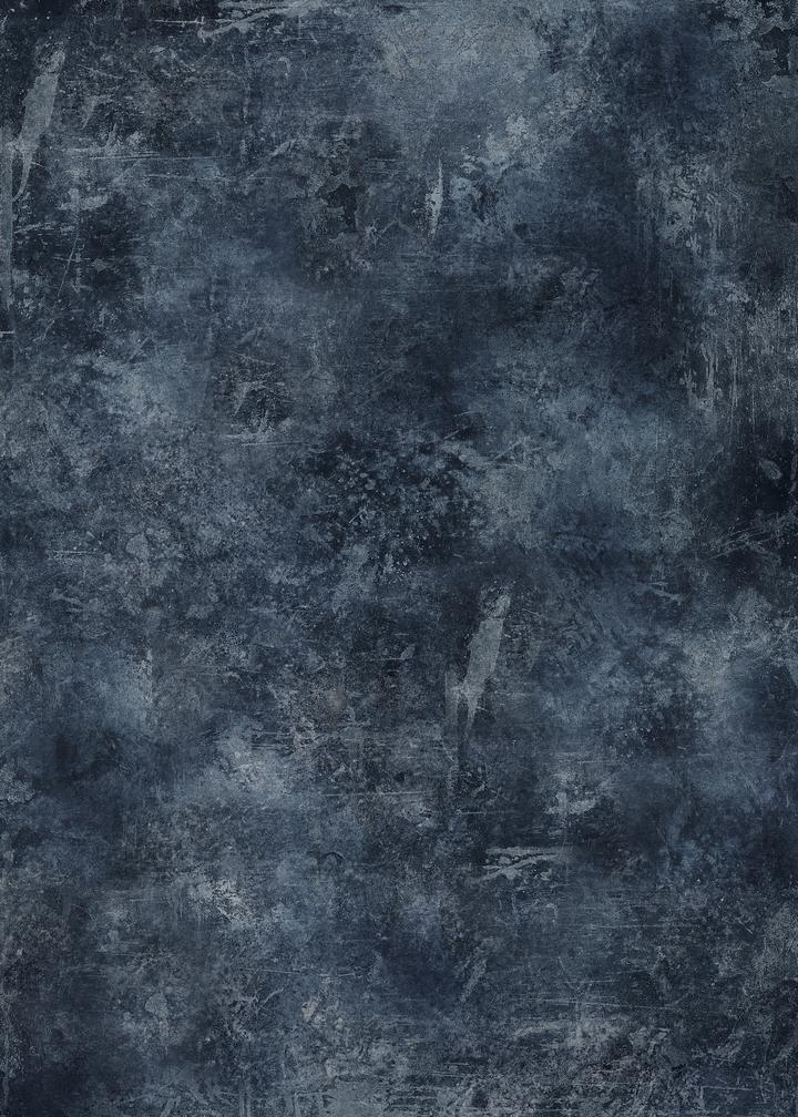 531. 'Delia' dark blue effect, A1 vinyl photography background