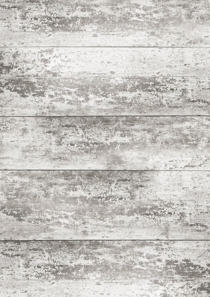 181. 'French' old painted wood effect printed photography background, A1 size paper sheet