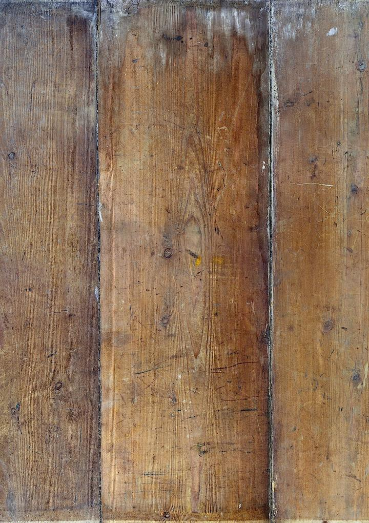 508. 'Plank' warm wood, A1 vinyl photography background