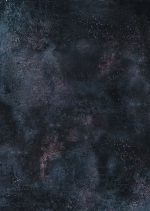 544. 'Stardust' dark blue abstract, A1 vinyl photography background