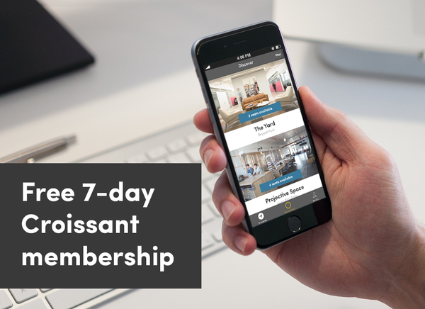 Day Pass + FREE Croissant Membership
