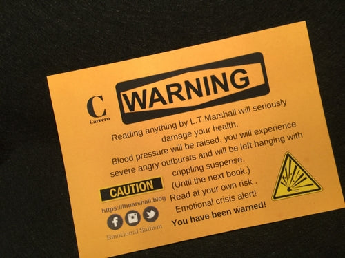 Carrero Warning Postcard