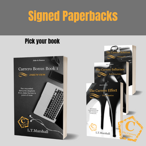 Signed Paperback and budget pack