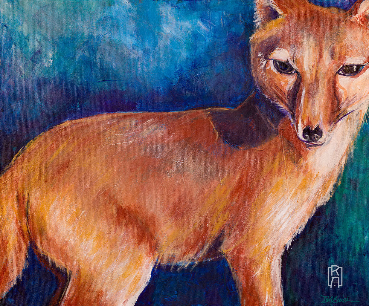 Red Fox | Painting by Denise Marta-Burch