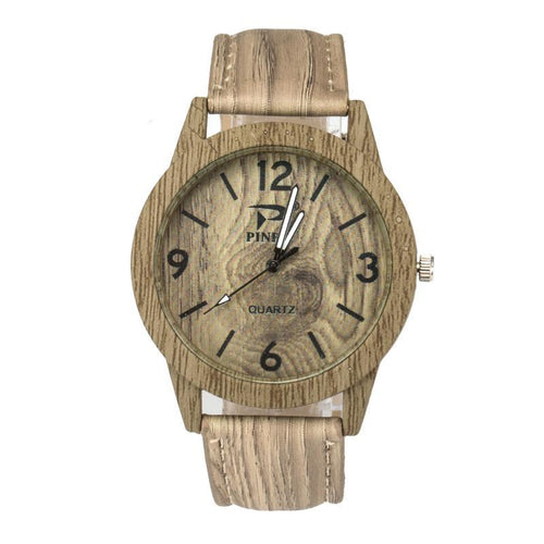 Bamboo Ladies And Men`s Fashion watches