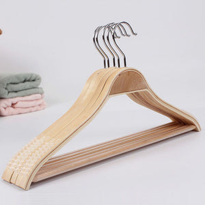 10 Pieces Bamboo Clothes Hanger