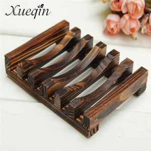 Handmade Wooden Bathroom Wood Soap Dish Cup