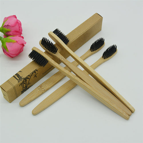 1pc. BPA Free Bamboo Toothbrush