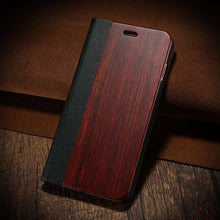 Wood Flip Cases for Apple iPhone