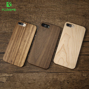 Wood Cover For iPhone 7 iPhone 7 Plus Case