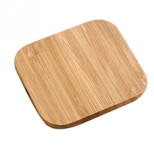 Wireless Charger in Bamboo for Samsung And Iphone