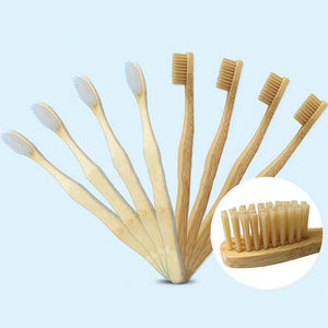 12PCS Bamboo Tooth Brush