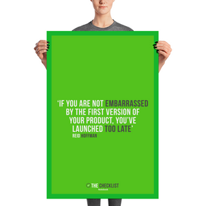Launch Fast Poster - 24x36