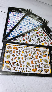 Butterfly sticker 4 units