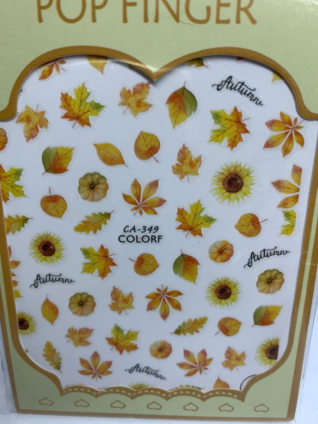 Fall sticker ca-349