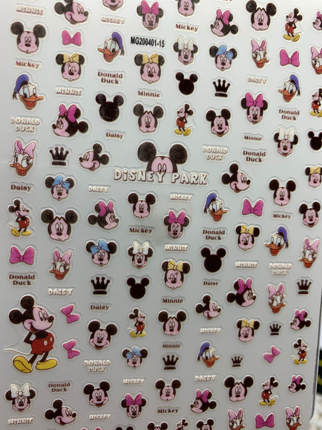 Mickey sticker MG200401-15