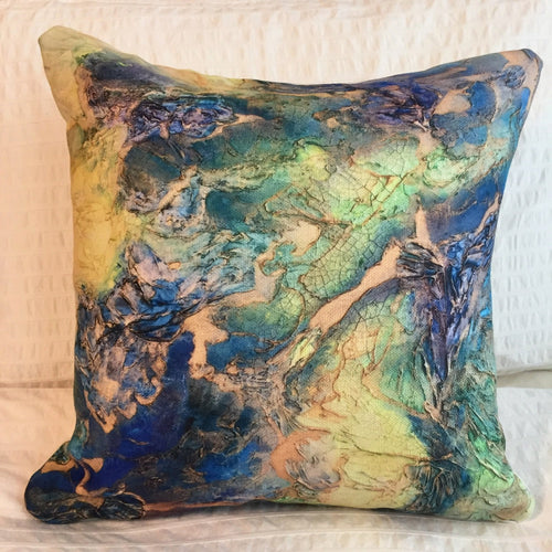 WILD FLOWER 1 16x16 Pillow