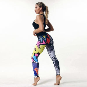 High Waist Boom Leggings