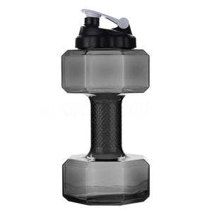 NEW 2.2L Dumbbells Shaped Water Bottle - BPA FREE