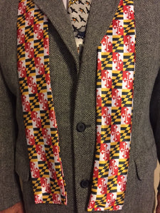 Men's Maryland State Flag Scarf