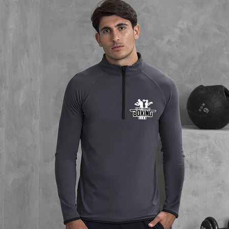 Albert Foundry Boxing - JC031 Cool ½ zip sweatshirt