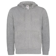 B&C Hooded full zip /men