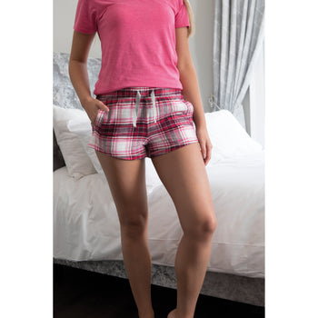 Gals flannel Pyjama shorts