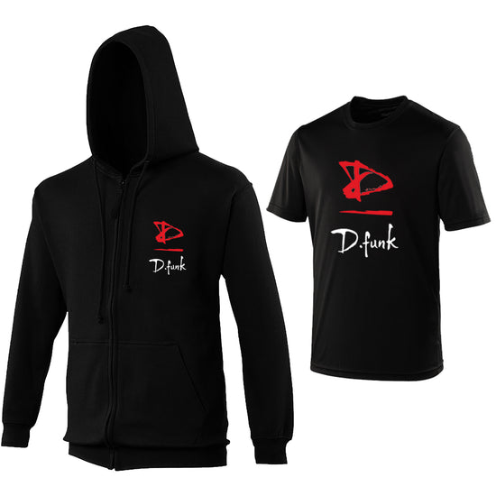 D Funk Dance - Zip-up & Cool Fit Tshirt Offer