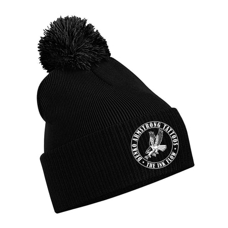 Denko - Ink Flow Tattoo - Original pom pom beanie