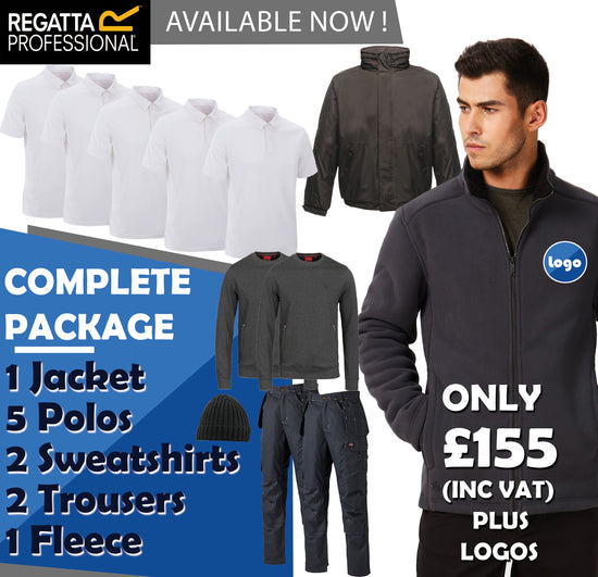 12 Piece Complete Work Wear Package