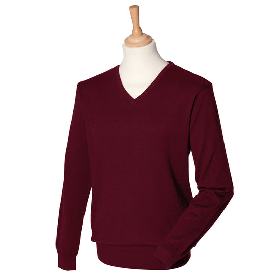 12 gauge v-neck jumper