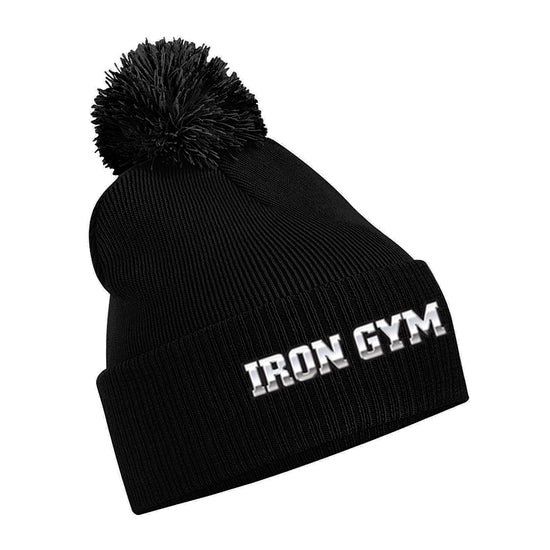 Iron Gym - Original pom pom beanie