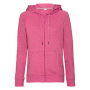 Women's HD zipped hood sweatshirt
