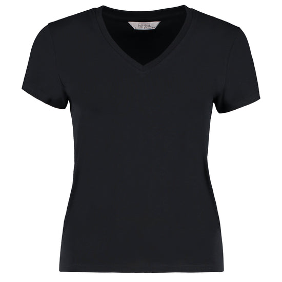 Women's cafe bar top t-shirt short sleeve