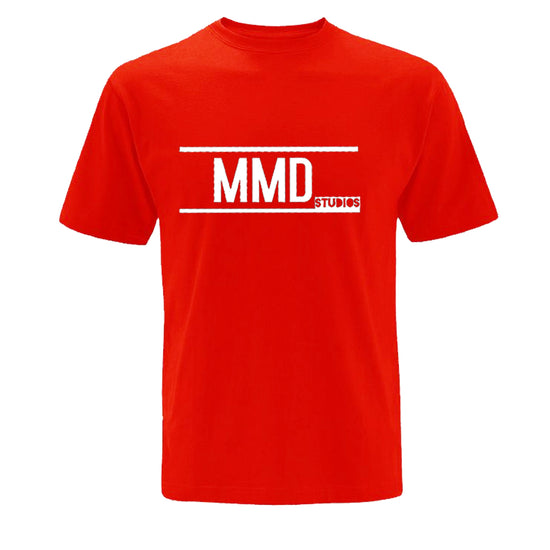 MMD Studios - GD001 Red Cotton Poly Tshirt