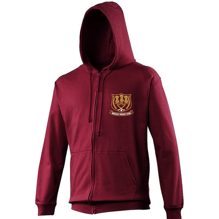 Mossley Hockey Club -  JH050 Zip-Up Hoodie