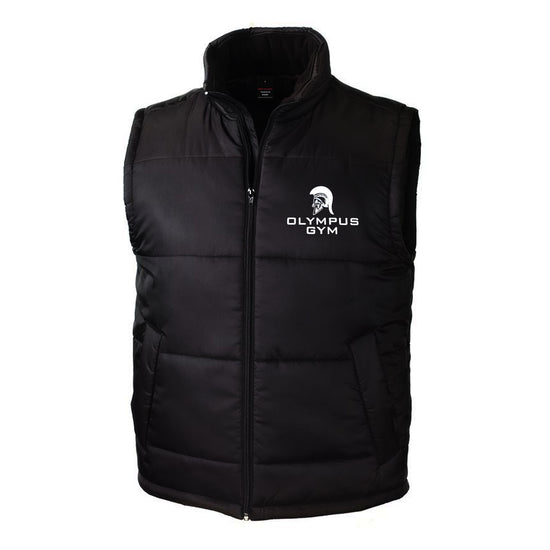 Olympus Gym - Black Bodywarmer