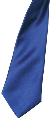 'Colours' satin clip tie