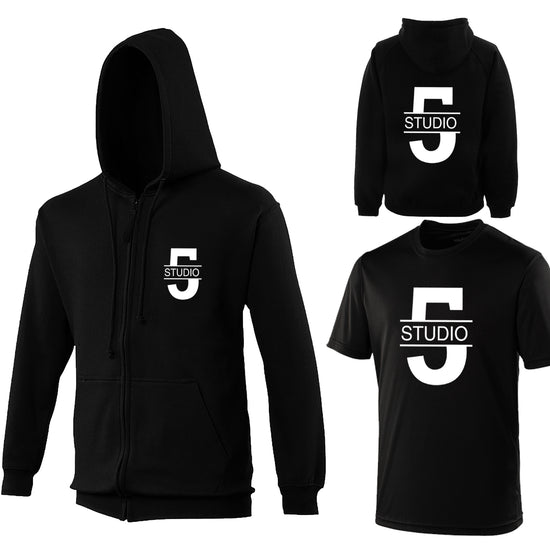 Studio 5 - Zip-up & Cool Fit Tshirt Offer