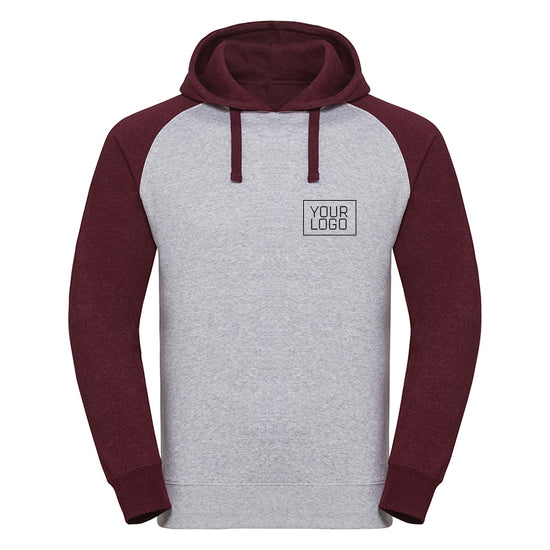 J269M Authentic hooded baseball sweatshirt