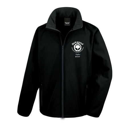 Oakwood School Staff-  R231M Softshell jacket