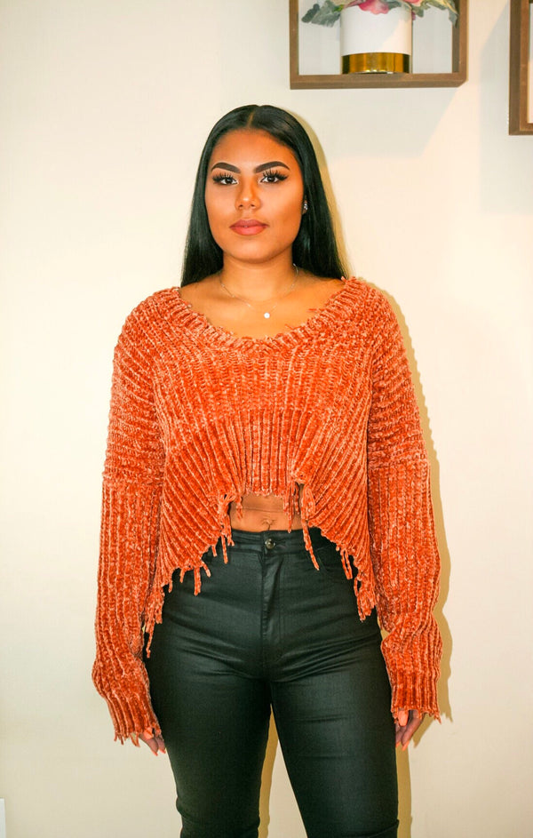 Aubrey | Chunky Crop Sweater