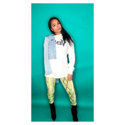 Shameless | Snakeskin Leggings