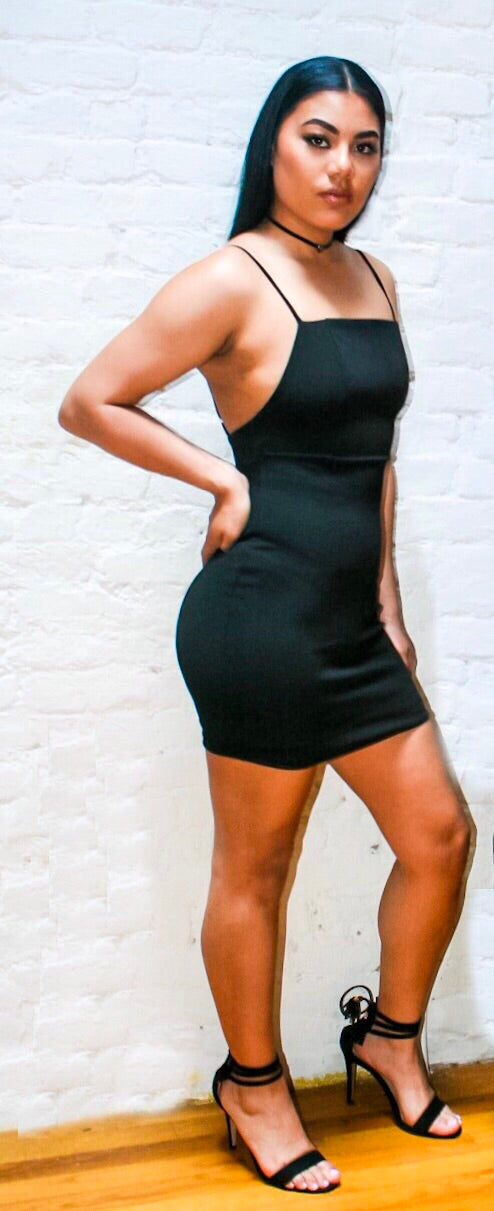 Fearless | Black Bodycon Dress